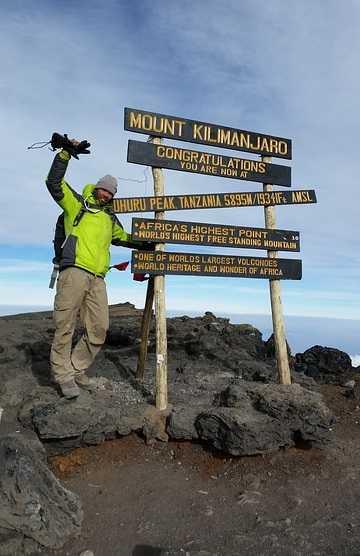 Mt. Kilimanjaro Peak
