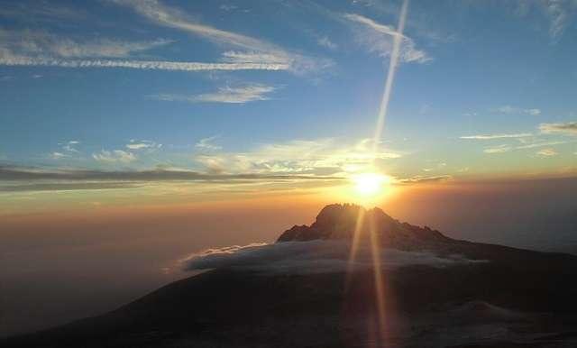 Mt. Kilimanjaro Sunrise