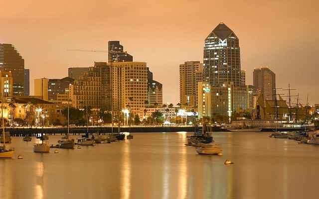 San Diego at Dusk