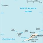 Anguilla CIA Map