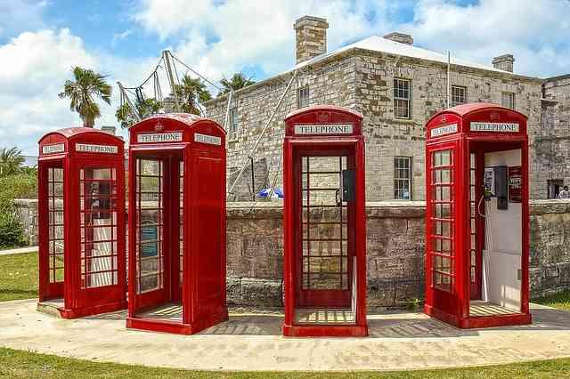 Vintage Phone Booths