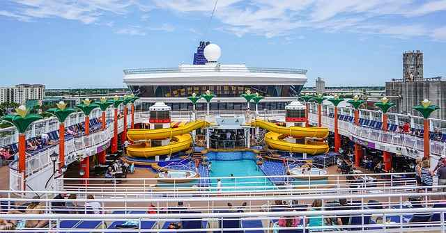 cruise ship with kids