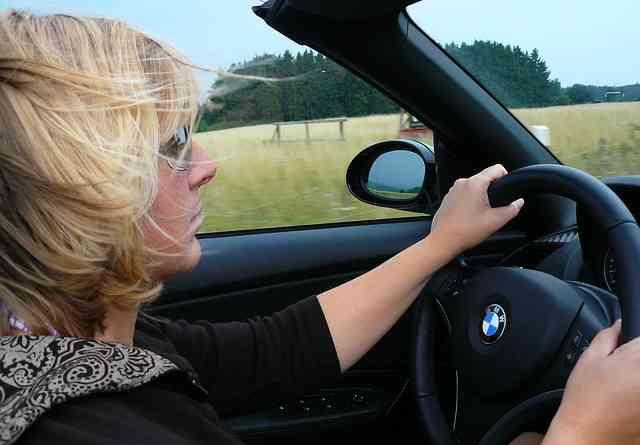 road trip woman