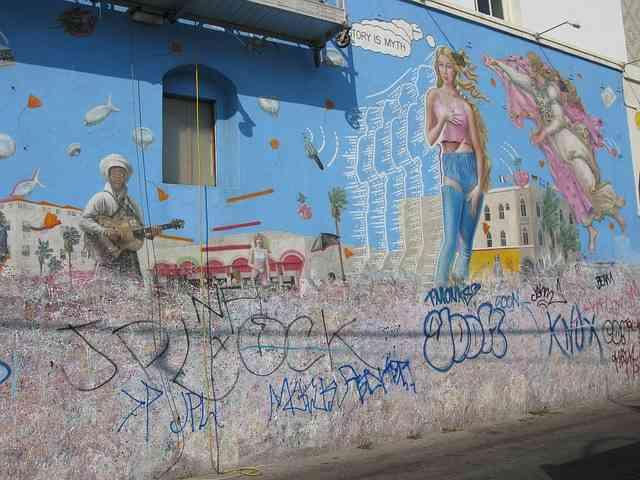 Venice Beach Grafitti