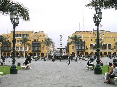 Lima Peru square