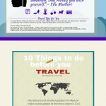 Travel Tips Infographic
