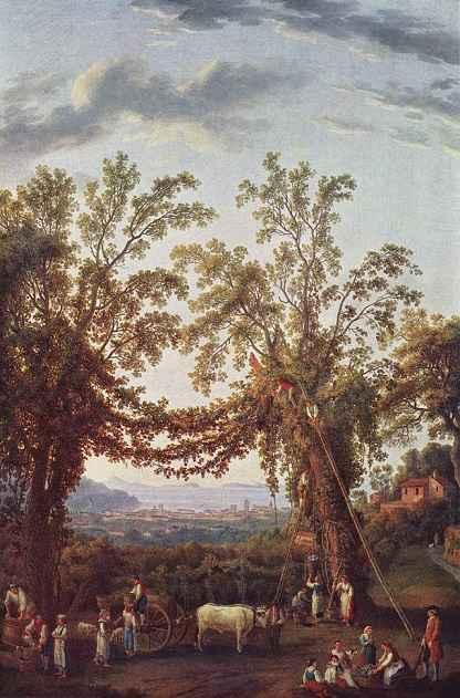 Jacob Philipp Hackert Painting