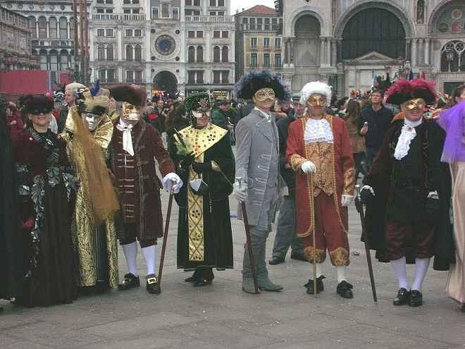 Venezia carnival costumes